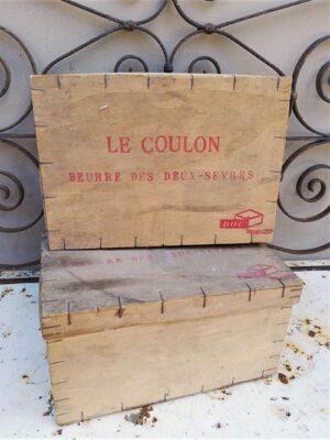 spanen houten Franse boterdozen