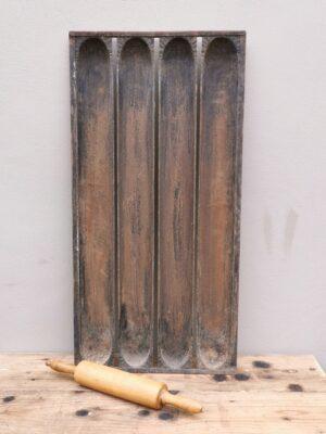 Metalen bakvorm voor stokbrood