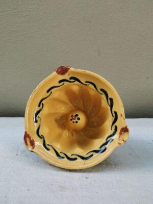 Handbeschilderd kleine bakvorm